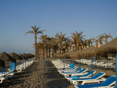 une plage espagnole, en andalousie.