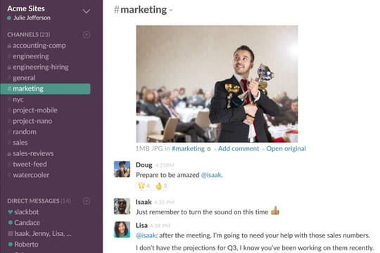 Slack vs Microsoft Teams : le match