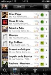 l'application iphone dismoioù