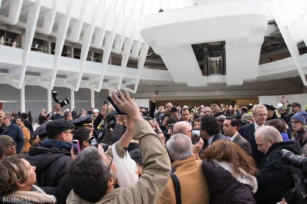 L'événement a attiré les foules