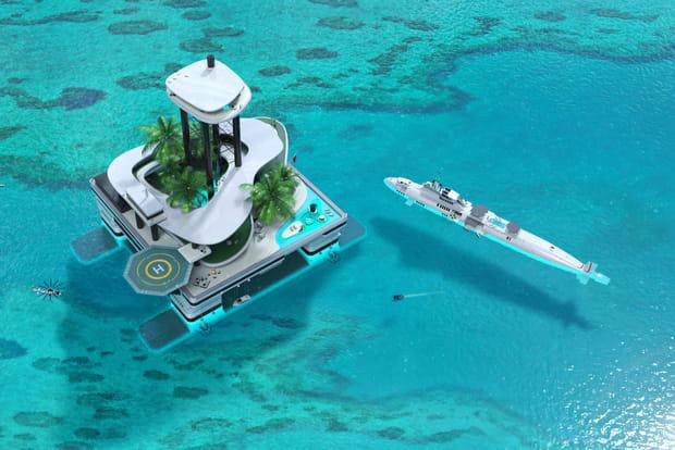 Une suite penthouse à 80mètres au-dessus du niveau de la mer