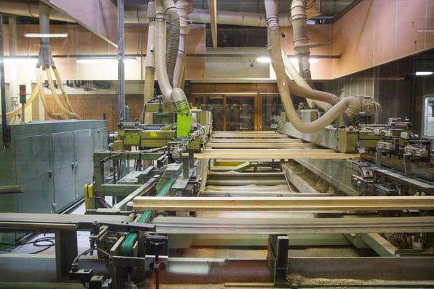 Des chaînes d'usinage automatiques