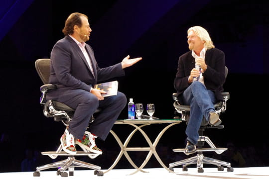 Richard Branson à Dreamforce