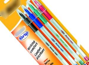 le prix des stylos billes diminue de 2,7% en moyenne sur internet en 2010.