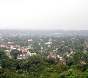 la ville de jamshedpur, fondée par le créateur du groupe tata.