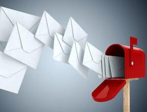 top 5 des services mail les plus consultés en france