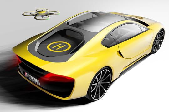 Les drones bientôt indispensables aux voitures ?