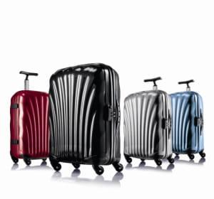la valise cosmolite de samsonite.