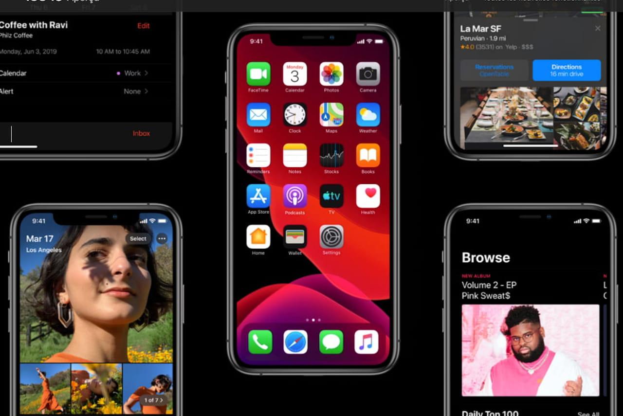 iOS13: lancement attendu pour le 10septembre