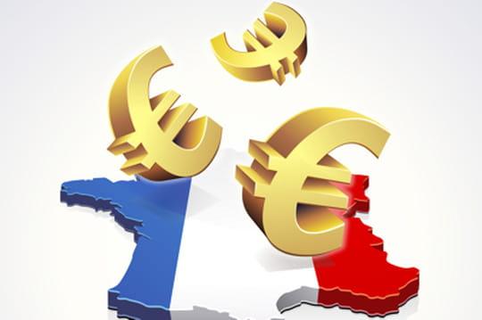 Les régions françaises les plus subventionnées parl'Europe