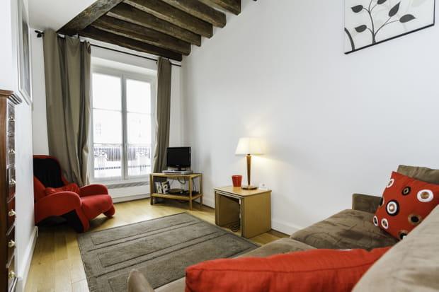 l 39 appartement de la joconde paris france. Black Bedroom Furniture Sets. Home Design Ideas