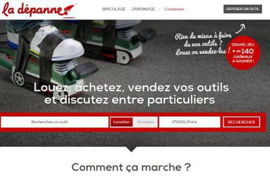 Monsieur Bricolage lance La dépanne, site de location et vente d'outils entre particuliers
