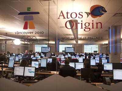 le centre de coordination technologique des jeux olympiques de vacouver.