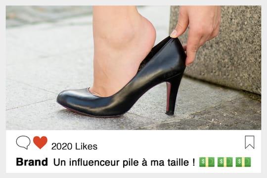 Marques et influenceurs: comment trouver chaussure à votre pied?