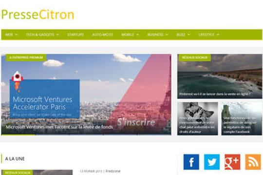 Le site Presse-Citron abandonne la bannière publicitaire