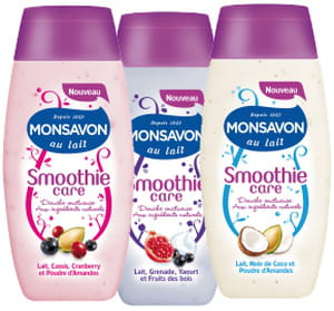 smoothie care monsavon est vendu 2,90 euros en grandes et moyennes surfaces.
