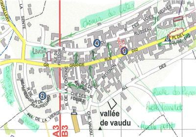 cartographie annotée par le sdis 89