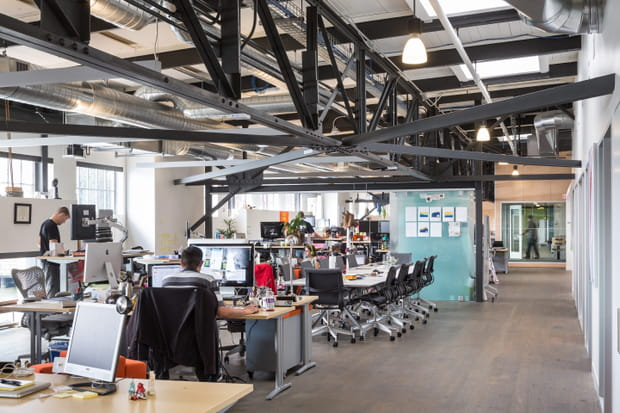 Un lieu de travail où sont développés de nouveaux produits