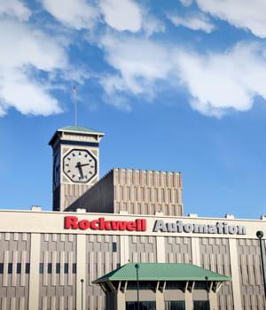 les locaux de rockwell automation, situés dans le milwaukee.