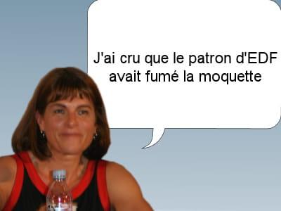 anne lauvergeon, ex-patronne d'areva, le 26 novembre 2011.