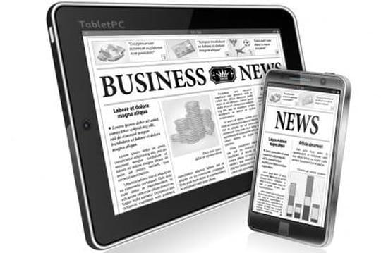Le mobile tire la croissance de l'audience des marques de presse