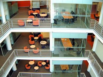 les locaux du cabinet d'avocats osborne clarke à bristol, aménagés par degw.