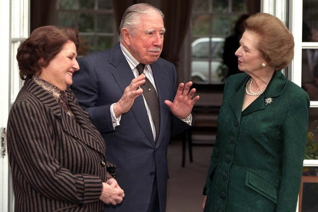 La polémique Pinochet