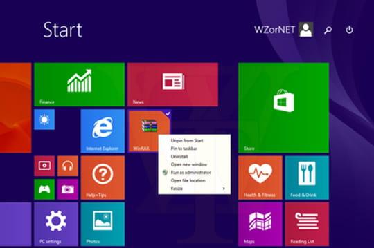 Windows 8.1 Update 1 : retour du bouton d'arrêt sur l'écran d'accueil