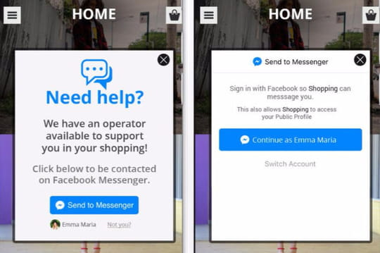 Facebook Messenger réinvente les push notifications