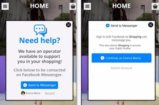 Facebook Messenger réinvente les push notifications