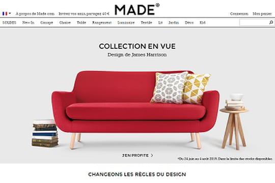 Made.com lève 60 millions de dollars pour devenir une marque européenne