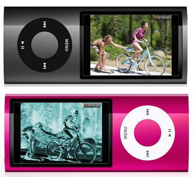 les nano peuvent filmer, et même appliquer quelques effets aux vidéos