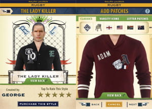l'application iphone ralph lauren rugby