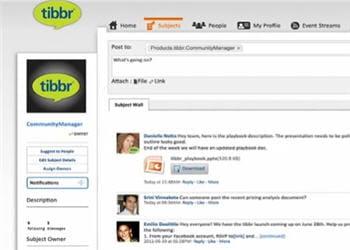 tibbr a été lancé par tibco, un acteur historique dans le domaine de