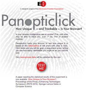 panopticlick