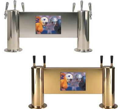 un appareil à poser sur une table ou un bar, et mesure 70 cm de long pour 35 de