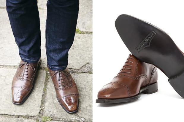Une paire de chaussures J. FitzPatrick
