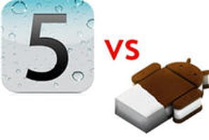 iOS 5 vs Android 4 : le choc des titans