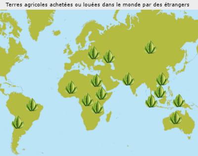 les terres cultivables disponibles sont principalement situées dans les pays en