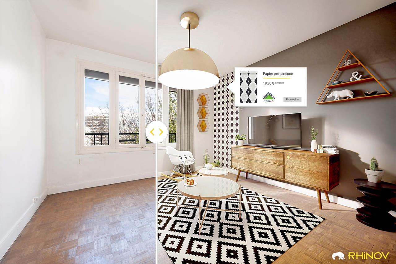 Home Staging Photos Avant Après rhinov, la start-up qui transforme votre logement sans travaux