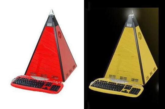 Des pyramides high-tech