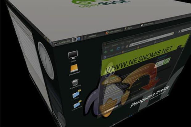 Compiz Fusion : créer des effets 3D