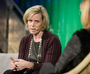 joanne bradford, responsable des partenariats chez pinterest.