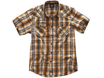 chemise à carreaux bowery dickies