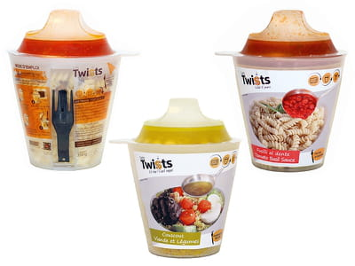 la box repas de twist box.