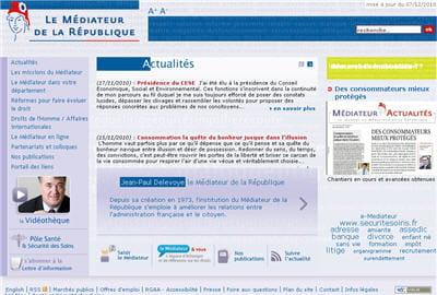 copie d'écran du site mediateur-republique.fr