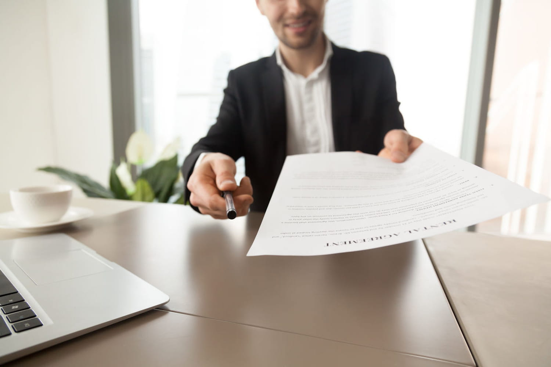 Bail professionnel: durée, résiliation et modèle