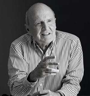 jack welch, président de general electric de 1981 à 2001.