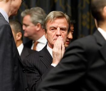 bernard kouchner, ministre français des affaires étrangères.