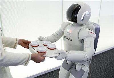asimo est le petit robot conçu par honda